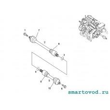 Пыльник ШРУСа наружнего Smart 450 ForTwo / Roadster 452 1998 - 2007 неоригинал