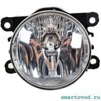 Фара противотуманная (ПТФ) галогеновая Smart 453 ForTwo / ForFour 2014 ->