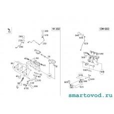 Турбина Smart 450 0.8L CDi ForTwo 1998-2007