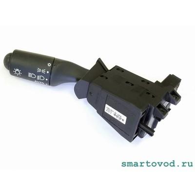 Подрулевой переключатель света (левый) серый Smart ForTwo 451 2007 -2014 (под датчик света / дождя)