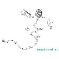 Стартер / генератор Smart 451 ForTwo MHD 2007- 2012