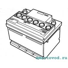 Аккумуляторная батарея 62 А*ч Smart 451 ForTwo 2007 - 2014