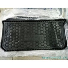 Коврик в багажник полиуретановый черный Smart ForTwo 451 2007 - 2014