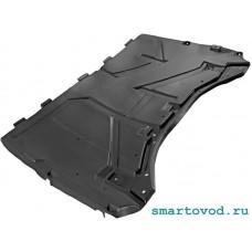 Защита днища задняя / пыльник пластиковый Smart 451 ForTwo 2007 - 2014 (неоригинал)