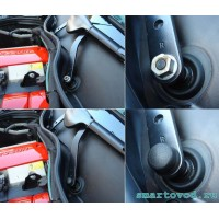 Заглушка / колпачек декоративный болта поводка стеклоочистителя переднего Smart 451 ForTwo 2007 - 2014