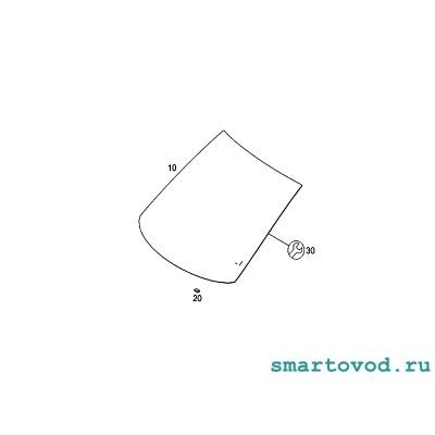 Стекло лобовое (ДД) Smart 451 ForTwo 2007 - 2014 (оригинал)