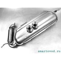 Глушитель BRABUS Smart 451 ForTwo 2012 - 2014