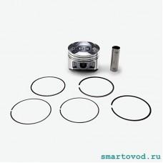 Поршень в сборе 1-й ремонт 72,25 мм Smart 451 ForTwo 1.0 L, комплект 3 шт.