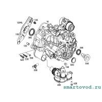 Сальник первичного вала КПП Smart 451 ForTwo 2007 -2014