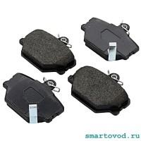 Колодки тормозные передние дисковые Smart 450 / 451 / 452 ForTwo / Roadster 1998 - 2014 (оригинал)