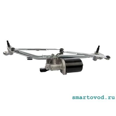 Стеклоочиститель / трапеция в сборе с мотором Smart 452 Roadster (неоригинал)
