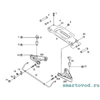Болт задний рычага передней подвески Smart ForTwo / Roadster 1998 - 2007
