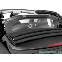Защитная шторка / дефлектор от ветра Smart ForTwo 453 Cabrio 2014 -->