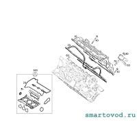 Прокладка клапанной крышки и свечных колодцев Smart 453  ForTwo / ForFour 0.9 / 1.0 2014 - >