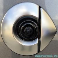 Камера заднего вида в задний логотип Smart 453 ForFour 2014 ->