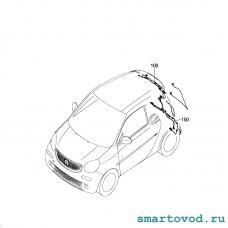 Камера заднего вида Smart 453 ForTwo 2014 ->