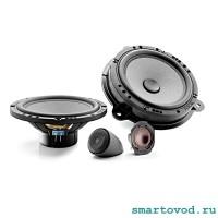 FOCAL Аудиоколонки / динамики и твиттеры / пищалки комплект 4 шт. для Smart 453 ForTwo / ForFour 2014 ->