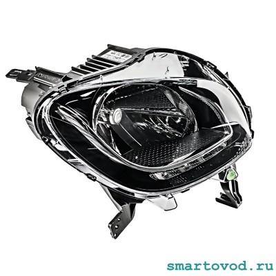 Фара передняя ПРАВАЯ головного света галогеновая Smart 453 ForFour 2014 ->