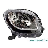 Фара правая  передняя головного света Smart 453 ForTwo 2014 ->
