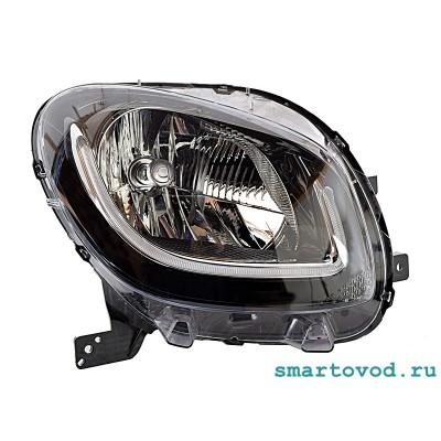 Фара передняя ПРАВАЯ головного света с LED ходовыми огнями Smart 453 ForTwo 2014 ->