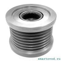 Шкив генератора / обгонная муфта Smart 453 ForTwo ForFour 20014 ->