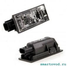 Фонарь (плафон) подсветки номерного знака Smart 453 FoTwo / ForFour 2014 ->