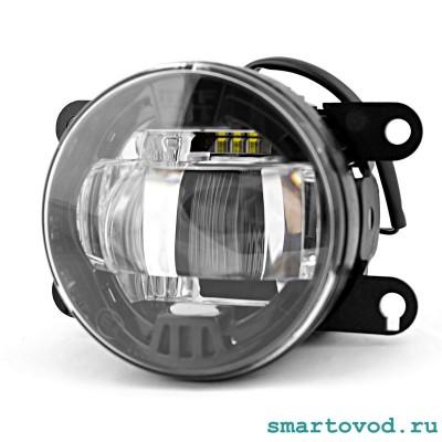Фара противотуманная (ПТФ) светодиодная (LED) Smart 453 ForTwo / ForFour 2014 -> комплект 2 шт.