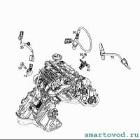 Лямбда-зонд / кислородный датчик перед катализатором Smart 453 ForTwo 2014 -> (неоригинал)