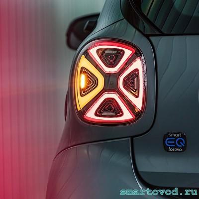 Фонарь / Фара задняя LED / светодиодная Smart EQ 453 ForTwo / ForFour 2020 - комплект 2 шт.