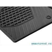 Коврики резиновые передние Smart 453 ForTwo 2014 ->