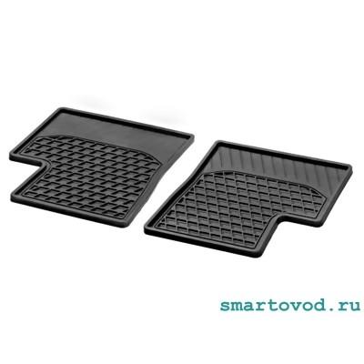 Коврики резиновые задние Smart 453 ForFour 2014 ->