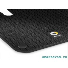 Коврики репсовые передние Smart 453 ForTwo / ForFour 2014 ->