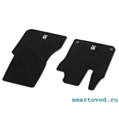 Коврики передние велюровые Smart 453 ForTwo / ForFour 2014 --> оригинал