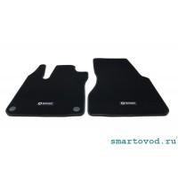 Коврики велюровые передние Smart ForTwo / ForFour 453 2014-->
