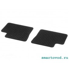 Коврики репсовые задние Smart 453 ForFour 2014 ->