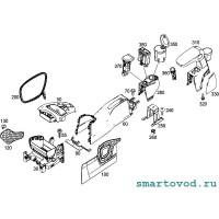 Центральный подлокотник / подстаканник Smart ForFour 453 2014 - >
