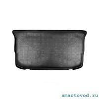 Коврик / поддон в багажник полиуретановый Черный Smart ForFour 453 2014 -->