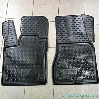 Коврики в салон полиуретановые Smart ForTwo 453 2014 -->