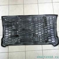 Коврики в багажник полиуретановые Smart ForFour 453 2014 -->