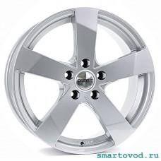 "Диски легкосплавные DEZENT TD silver 16"" Smart 453 ForTwo / ForFour 2014-> комплект 4шт."