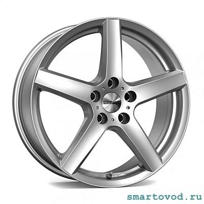 "Диски легкосплавные DEZENT TY silver 16"" Smart 453 ForTwo / ForFour 2014-> комплект 4шт."
