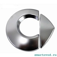 Шильдик / логотип SMART на переднюю решетку SMART 453 FORTWO / FORFOUR
