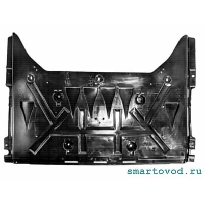 Защита задняя / пыльник днища Smart 453 ForTwo / ForFour 2014 ->