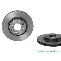 Диски тормозные передние Smart 453 ForTwo / ForFour 2014->,  комплект  2 шт.