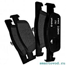 Колодки тормозные передние дисковые Smart 453 ForTwo / ForFour 2014 -> (оригинал)