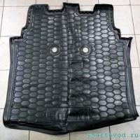 Коврики в багажник полиуретановые Smart ForFour 454 2004 - 2006