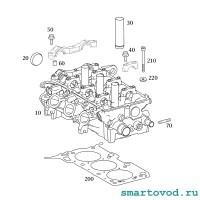 Прокладка головки блока (ГБЦ) Smart 454 1.1 л ForFour 2002 - 2004