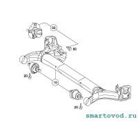 Сайлентблок задней балки Smart 454 Forfour 2004-2006