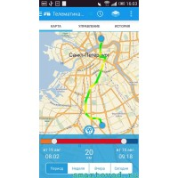 GPS / ГЛОНАС модуль - МОНИТОРИНГ с компьютера или смартфона