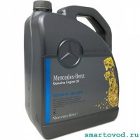 Масло моторное оригинальное Mercedes 5W-40 229.5 / 5L для Smart ForTwo / Roadster / ForFour